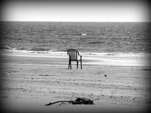 Chair on beach Jasleen Kaur